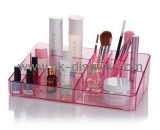 Factory design professional acrylic make up stand make-up box CO-084