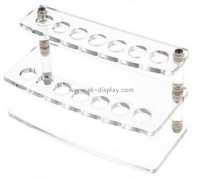 Double layers e-cig display stands CIG-007