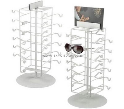 Metal sunglasses display stands with poster holder GD-014