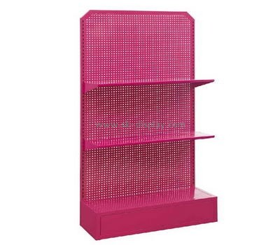 Metal pegboard display rack for cosmetic CO-018