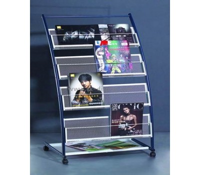 Metal Magazine Display Shelf  BD-013