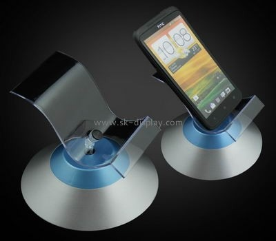 Battery Powered Rotating Display Stand for mobile phone CPD-014