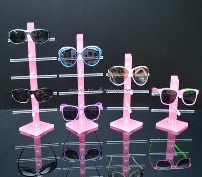 pink acrylic glasses display stands GD-021