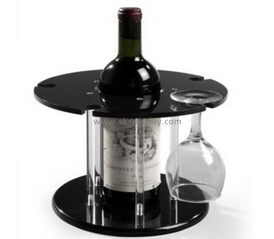 Acrylic wine display stand with five wineglass holder WD-027