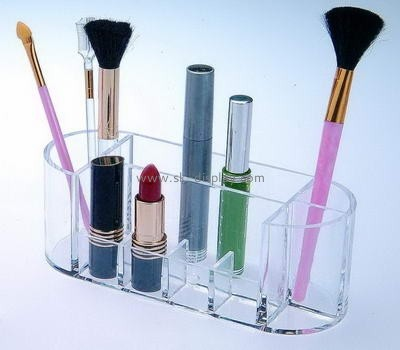 Acrylic makeup display with dividers CO-030