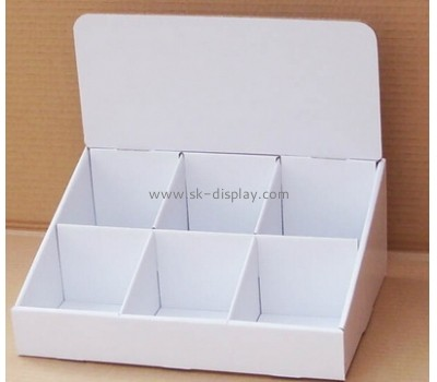Coffee desk cardboard display stand CDS-003