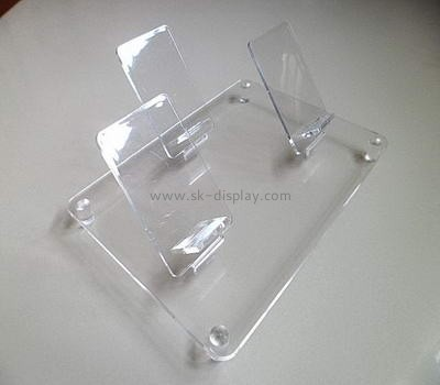 Acrylic  cell phone display with three holders PD-028