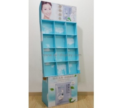 Cardboard retails display stand for make up counter CDS-011