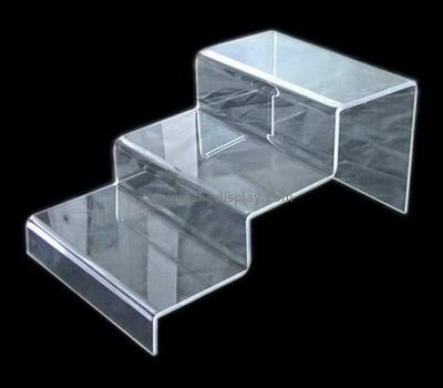 Three layers plexiglass shoes display rack SSD-029