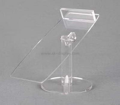 Green acrylic shoes display stands SSD-030