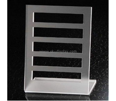 Acrylic display stand for bracelet and necklace with five horizontal bars JD-040