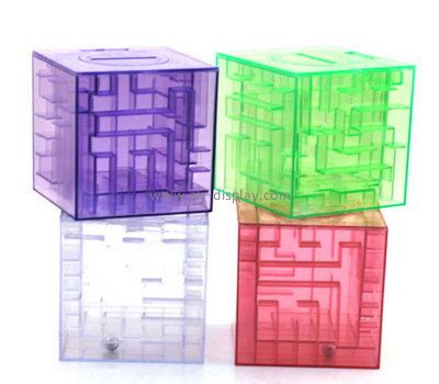 3D Puzzle Cube Acrylic Coin Collector Box DBS-021