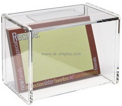 Transparent perspex storage case for picture frame DBS-033