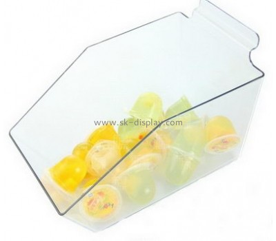 China factory custom plastic acrylic display candy jelly storage box FD-062