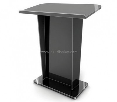 Wholesale acrylic rostrum acrylic lectern cheap church podium AFS-074
