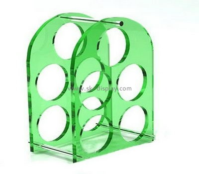 Wholesale acrylic wine bottle display rack wine bottle display rack acrylic display rack WD-054