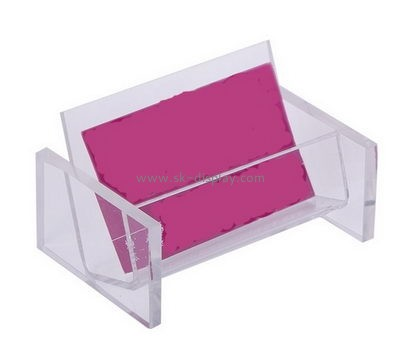 Wholesale acrylic name card holder business card holder acrylic tent card holder BD-059