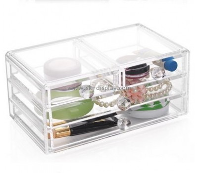 Customized acrylic make up organizer cosmetic organizer acrylic makeup organizer CO-089