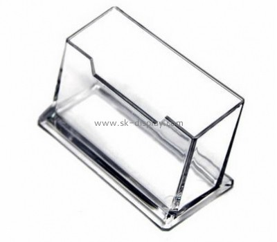 Factory hot selling acrylic cheap business card holder name card holder acrylic brochure holder BD-063