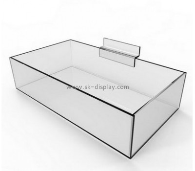 Factory custom acrylic plastic food container acrylic candy container wholesale perspex box FD-086