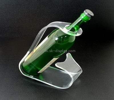 Factory wholesale acrylic wine display stand bottle display rack acrylic display rack WD-070