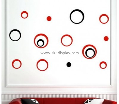 Hot selling acrylic dot sticker mirror sticker ceiling decoration sticker MA-088