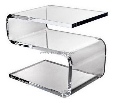 Custom acrylic bedroom furniture modern clear acrylic trunk table bedside table AFS-100