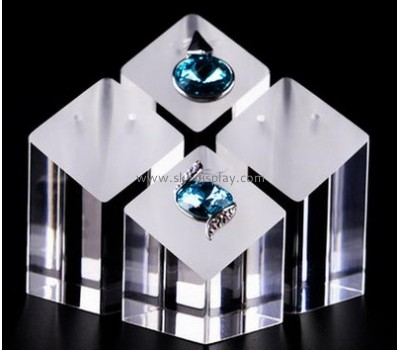 Hot selling acrylic perspex display stands cheap jewelry displays ring stand JD-105