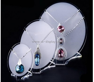 Supplying acrylic jewellry stand necklace stands displays counter display stands JD-110