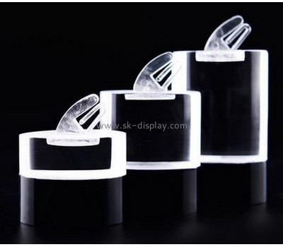 Customized clear display stands perspex display stands ring stand jewelry JD-113