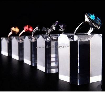 Acrylic counter displays wholesale  acrylic jewelry display acrylic ring holder JD-114
