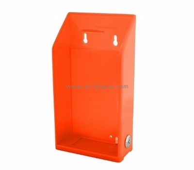 Acrylic box factory customize large display voting boxes DBS-297