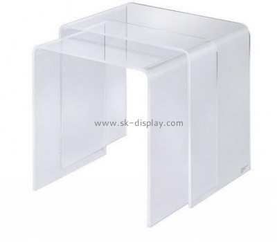 Acrylic manufacturers customized cheap acrylic mini coffee table AFS-284