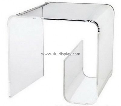 Perspex manufacturers customized living room acrylic coffee side table with storage AFS-287