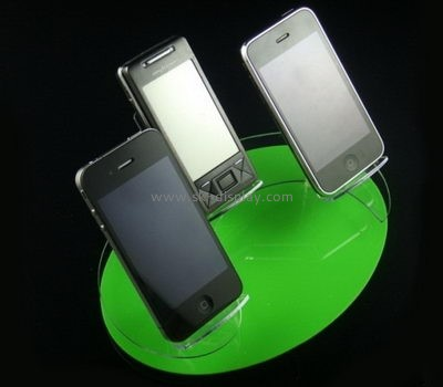 Acrylic plastic supplier customized mobile phone display stand PD-056
