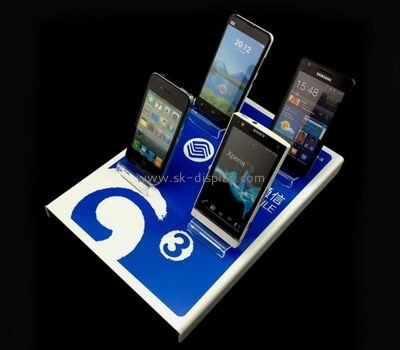 Acrylic manufacturers china customized perspex phone display stands PD-060
