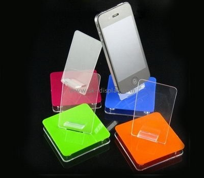 Lucite manufacturer customized acrylic mobile phone shop display PD-062