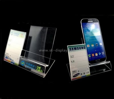 Acrylic manufacturers customized mobile phone display stand PD-069