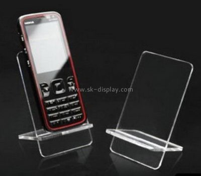 Lucite manufacturer custom acrylic desk cell phone holder PD-084