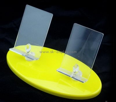 Plexiglass company custom acrylic best cell phone display stands PD-090