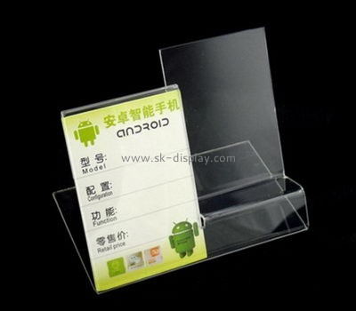 Acrylic display manufacturers custom acrylic products iphone display PD-112