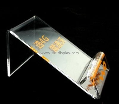 Acrylic products manufacturer custom plastic plexiglass phone display PD-118