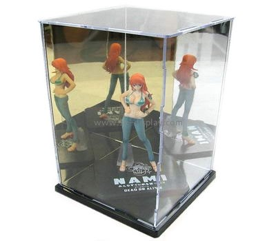 Acrylic plastic manufacturers custom clear plastic display case DBS-360