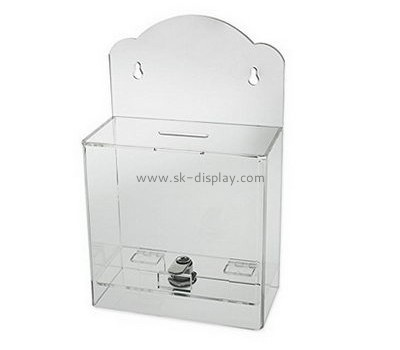 Lucite manufacturer custom acrylic plastic products suggestion box DBS-397