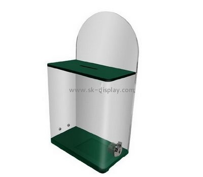 Acrylic manufacturers custom acrylic clear suggestion box DBS-402