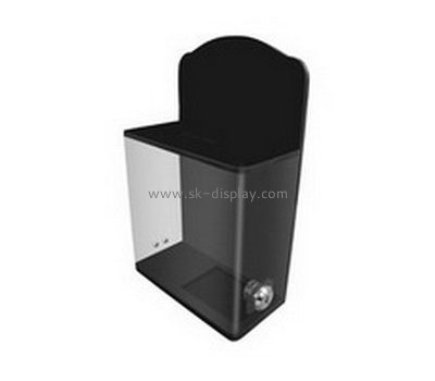 Acrylic supplier custom acrylic donation money box DBS-404