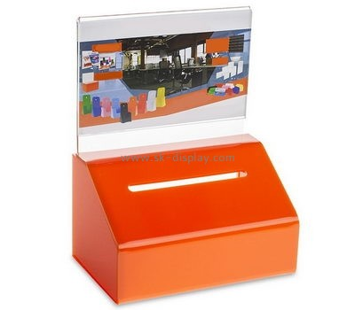 Acrylic box manufacturer custom acrylic ballot suggestion boxes DBS-483