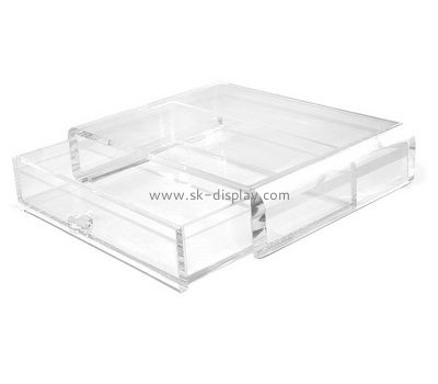 Acrylic display supplier custom plastic acrylic drawer boxes DBS-582