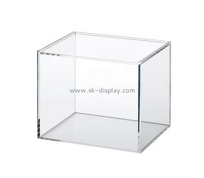 Acrylic items manufacturers custom perspex clear plastic display box DBS-591