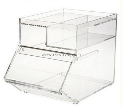 Lucite manufacturer custom acrylic pastry display case DBS-603